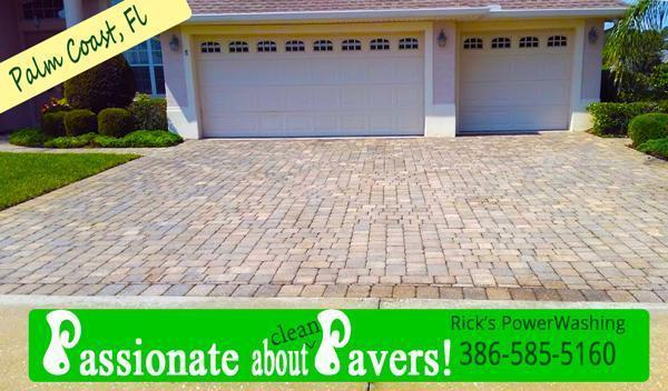 Pavers Power Washes